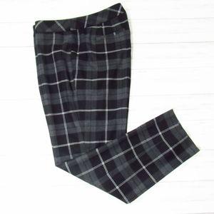 Talbots Hampshire Plaid Ankle Pants 10
